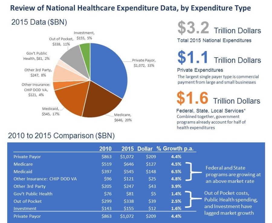 NHE 2015 by Expense Type